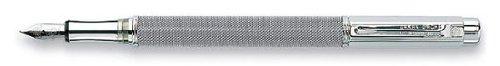 Caran D'ache Varius Ivanhoe, silver plated/rhodium coated Extra Fine Point Fountain Pen - CA-4490994