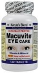 Nature's Blend Macuvite Eye Care 120 Tablets by National Vitamin Company