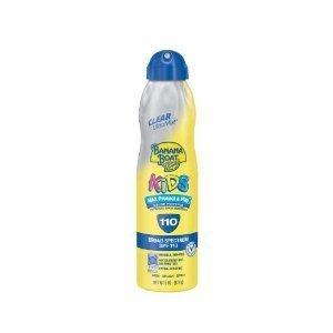 (Banana Boat UltraMist Kids MAX Protect & Play Clear Spray Sunscreen SPF 110: 6 OZ (2 Pack))