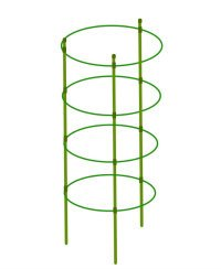 Mr.Garden Mini Trellis Garden Trellis for Potted Climbing Plants Support 7'' Dia x 8.1'' Dia x 9'' Dia x 10.23'' Dia x 35.4'' H,4 Rings, 3 Sets