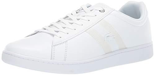 Lacoste Men's Carnaby EVO Sneaker, White, 13 Medium US (White Sneakers Lacoste)