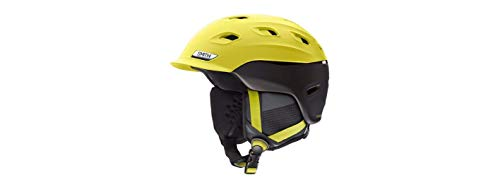 Smith Optics Vantage Adult Ski Snowmobile Helmet - Matte Citron/Black/Medium
