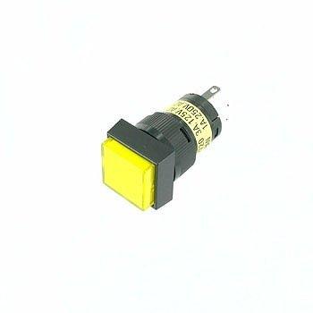 照光式押しボタンスイッチ 黄
