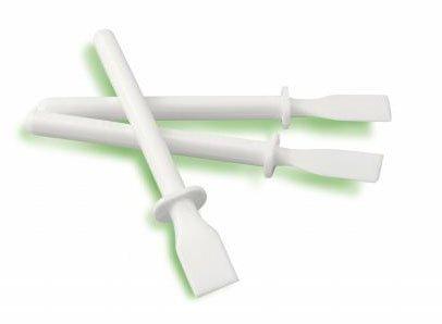 Lot de 20 école enfant Classe 11 cm en plastique Blanc Spatule à glaçage bâtons de colle PVA Major Brushes