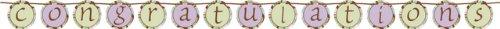 Baby Shower Parenthood (Parenthood Baby Shower 5.5 Ribbon Circle Banner - Each, Congratulations)