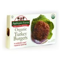 Applegate Farms Organic Turkey Burger, 16 Ounce -- 12 per case.