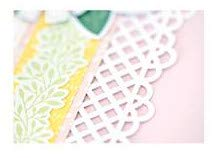 Decorative Lattice Border Punch Rare NLA for Card or Scrapbook Making by Creative Memories by Creative Memories (Image #1)