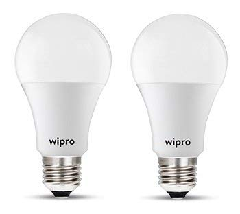 wipro 14-Watts e27 LED Cool Day Light Bulb, Pack of 2