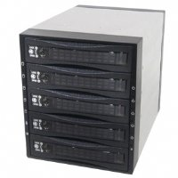 iStarUSA SAS/SATA 6.0 Gb/s Hot-Swap HDD Cage, Black BPU-350SATA by iStarUSA