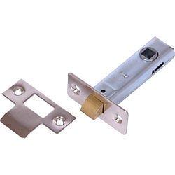Ironmongery World 2.5' Or 3' Tubular Mortice Door Latch In Nickel Or Brass
