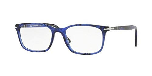 Persol PO3189V Eyeglasses Stripped Blue 55