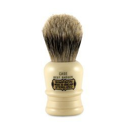 Case C1 Best Badger Shave Brush shave brush by Simpson