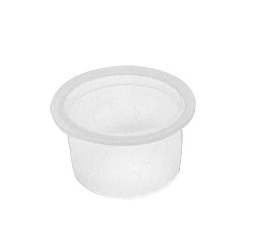 "National Artcraft Translucent White Plastic Stopper Plug Fits A 5/8"" Hole (Pkg/144)"