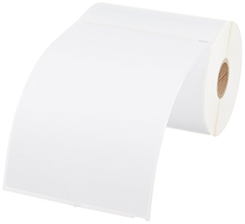 Large Product Image of AmazonBasics Multi-Purpose Labels for Label Printers, White, 4'' x 6'', 220 Labels per Roll, 1 Roll