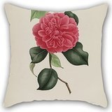 The Flower Cushion Covers Of ,18 X 18 Inches / 45 By 45 Cm Decoration,gift For Shop,girls,dining Room,indoor,office,festival (2 Sides)