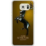 Galaxy S6 edge+ Case - Game Of Thrones Baratheon White Cell Phone Case Cover for Samsung Galaxy S6 edge Plus