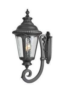 (Acclaim 7221BK Surrey Collection 3-Light Wall Mount Outdoor Light Fixture, Matte Black)