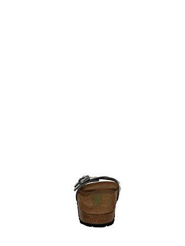 BIRKENSTOCK mod. ALMERE birko flor lack STEELGREY art 439153