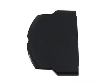 Gamilys Replacement Battery Back Cover Door for PSP 3000 (Black)