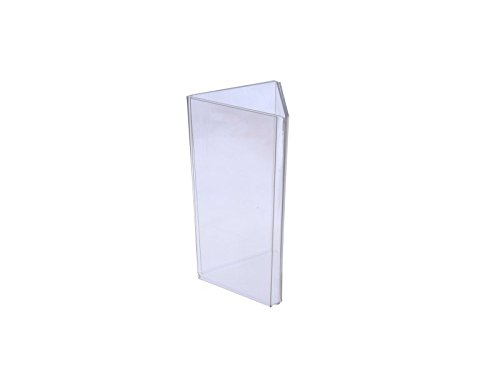 Marketing Holders Sign Holder Top Load Three Sided Table Tent Clear Acrylic (1, 4'' x 9'') by Marketing Holders