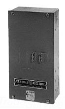 GE TQD225S Steel 2/3-Pole Circuit Breaker Enclosure 26.4 Inch x 8.9 Inch x 5.5 Inch