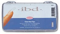 Tips Ibd Clear (IBD Clear Nail Tips, 100 Count by IBD)