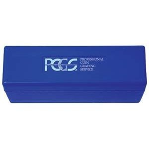 PCGS Plastic Storage Box for 20 Slab Coin Holders