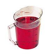 Cambro 100MCCW135 Camwear Measuring Cup 1 quart clear - Case of 12