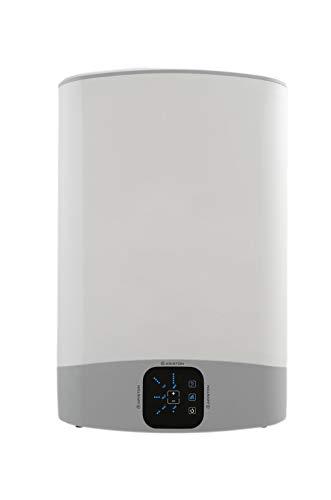 """Ariston, Velis Wifi, Termo Electrico, Clase """"B"""" Calificacion Energetica ErP, Capacidad 100 Litros, Acabado Titanio Esmaltado, 230 V, Ahorro de Energia, 3626329"""