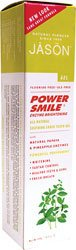 Enzyme Brightening (Jason PowerSmile Enzyme Brightening Gel Natural Toothpaste- Powerful Peppermint - 4.2 oz)