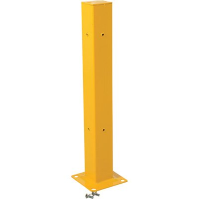 Heavy Duty Guard Rail - Vestil GR-TP42 Tubular Post for Guard Rail, 42
