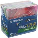 FUJIFILM 25301510 Mini CD-R Color