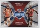 Andrew Luck; Cam Newton (Football Card) 2012 Bowman - Combine Competition #CC-LN offers
