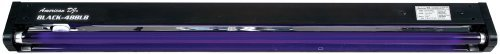 American Dj Black 48 Blb 4Ft Blacklight Tube And Fixture (Renewed)