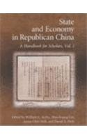 State and Economy in Republican China: A Handbook for Scholars (Harvard East Asian