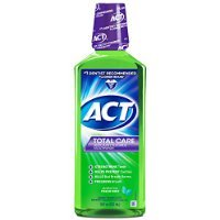 Act Total Care Anticavity Fluoride Rinse, Fresh Mint - 18 Oz, 3 Pack by ACT