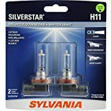 SYLVANIA - H11 SilverStar - High Perform...