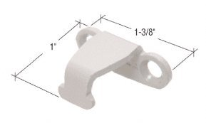 CRL Sash Lock Keeper; 1-3/8'' Wide, 1'' Projection