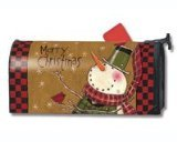 MailWraps Country Snowman Mailbox Cover (Snowman Country Christmas Boxes)