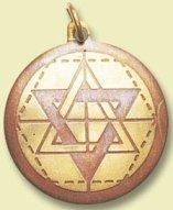 Colgante Amuleto Estrella de Salomon
