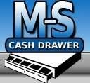 MS CASH DRAWER Ms Cash Drawer E500356 Elo-Msr-1517L 1717L-Gy-R