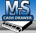 MS CASH DRAWER Ms Cash Drawer E500356 Elo-Msr-1517L 1717L-Gy-R by M-S-Cash-Drawer