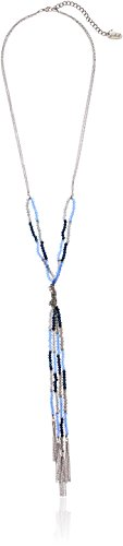 Multi Blue Glass Bead - 5