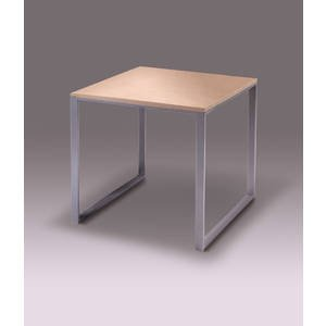 Medium Size Nesting Table, 27L x 27D x 24H by Retail Resource