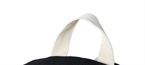 Sac sur Contrastante Sacs mère de de Green Couleur Main épaule Mode à Toile Portable Seule WEIZHE wUnqxd78w
