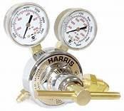 Harris Nitrogen Purging Regulator 25GX-500-580 HVAC with 10 Foot High Pressure Hose and a Free Roll of Teflon Tape