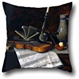 [20 x 20 inches / 50 by 50 cm oil painting William Michael Harnett - Still Life with the Toledo Blade throw pillow covers,2 sides is fit for study room,home,living room,drawing] (Hipster Disney Princesses Costumes)