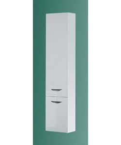 Copenhagen high white gloss bathroom unit wall cabinet for White high gloss kitchen wall units