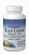 Planetary Herbals Standardized Black Cohosh Extract 2.5 Tablets, 90 Count