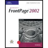 New Perspectives on Microsoft FrontPage 2002 9780619044633